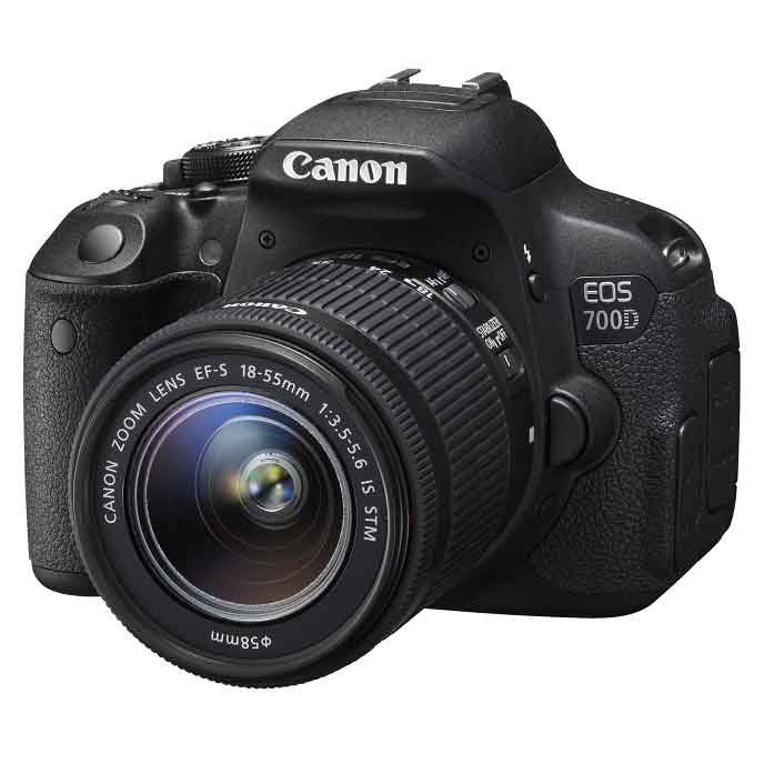 Canon EOS 700D Kit 18-55mm IS STM,دوربین دیجیتال کانن EOS 700D Kit 18-55mm IS STM,دوربین